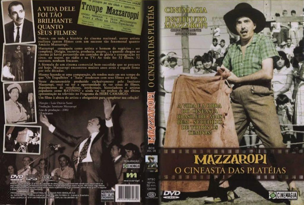 capa documentário mazzaropi cineasta das platéias